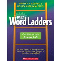 Daily Word Ladders Gr 2-3 Content Areas, SC-862743