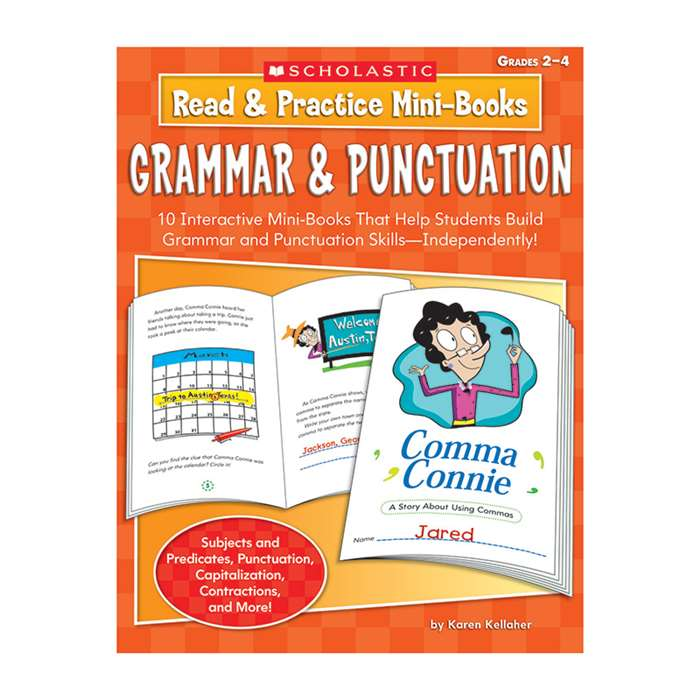 Read & Practice Mini-Books Grammar & Punctuation By Scholastic Books Trade