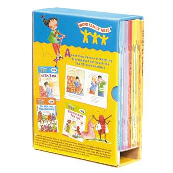 Word Family Tales Box Set By Scholastic Books Trade