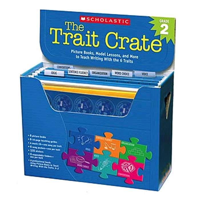 The Trait Crate Gr 2 By Scholastic Teaching Resources