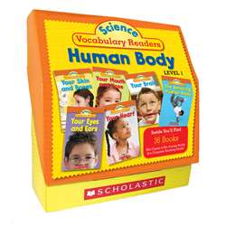 Science Vocabulary Readers Set Human Body Level 1 By Scholastic Books Trade