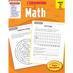 Scholastic Success With Math Gr 2, SC-9780545200707