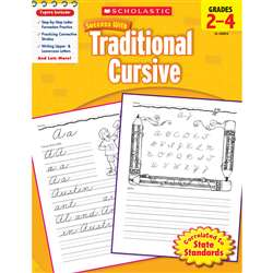 Scholastic Success With Traditional Cursive Gr 2-4 By Scholastic Books Trade