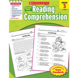 Scholastic Success With Reading Comprehension Gr 3 By Scholastic Books Trade