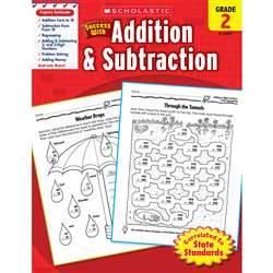 Scholastic Success With Addition & Subtraction Gr 2 By Scholastic Books Trade
