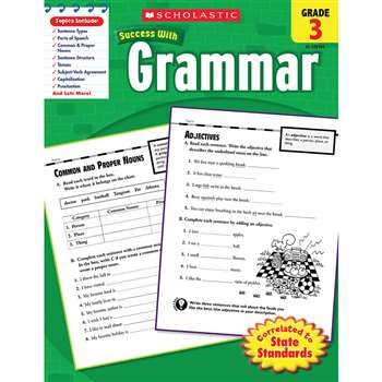 Scholastic Success Grammar Gr 3 By Scholastic Books Trade