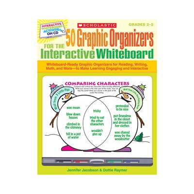 50 Graphic Organizers For The Interactive Whiteboard By Scholastic Books Trade