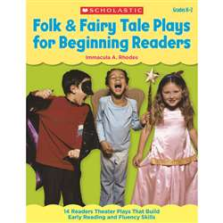 Folk & Fairy Tale Plays For Beginning Readers, SC-9780545209281