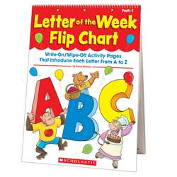 Letter Of The Week Flip Chart By Scholastic Books Trade