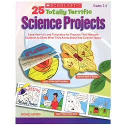 25 Totally Terrific Science Projects, SC-9780545231398