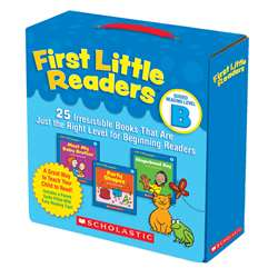 First Little Readers Parent Pack Guided Reading Level B By Scholastic Books Trade