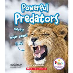 Powerful Predators Book, SC-ZCS670774