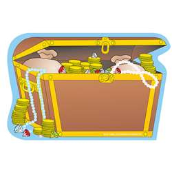Creative Shapes Notepad Treasure Chest Large By Creative Shapes Etc