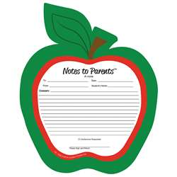 Notes To Parents Blank Apple Notepad, SE-1026