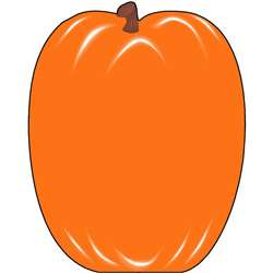 Notepad Large Pumpkin By Shapes Etc