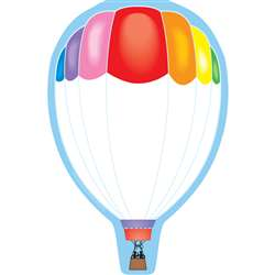 Notepad Large Hot Air Balloon By Shapes Etc