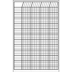Incentive Chart Small White 14 X 22 By Shapes Etc