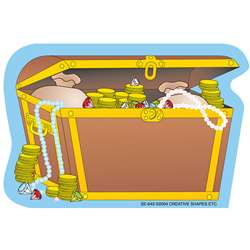 Creative Shapes Notepad Treasure Chest Mini By Creative Shapes Etc