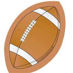 Creative Shapes Notepad Football Mini By Creative Shapes Etc