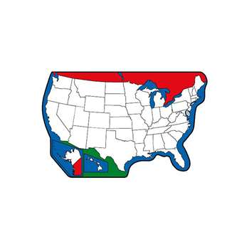 Mini Notepads Us Map By Shapes Etc