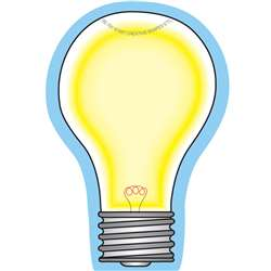 Creative Shapes Notepad Light Bulb Mini By Creative Shapes Etc