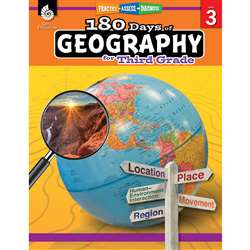 180 Days Of Geography Grade 3, SEP28624