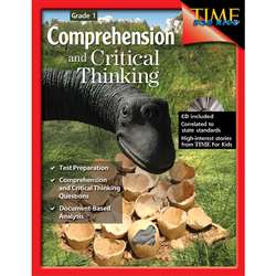Comprehensive And Critical Thinking Gr 1 By Shell Education