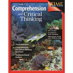 Comprehensive And Critical Thinking Gr 3 By Shell Education