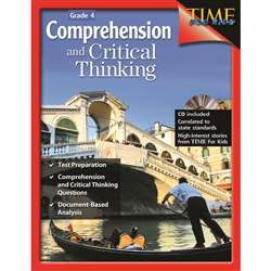 Comprehensive And Critical Thinking Gr 4 By Shell Education