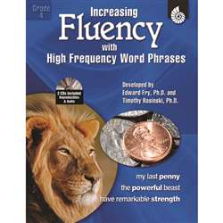 Increasing Fluency W High Frequency Word Phrases Gr 4 By Shell Education