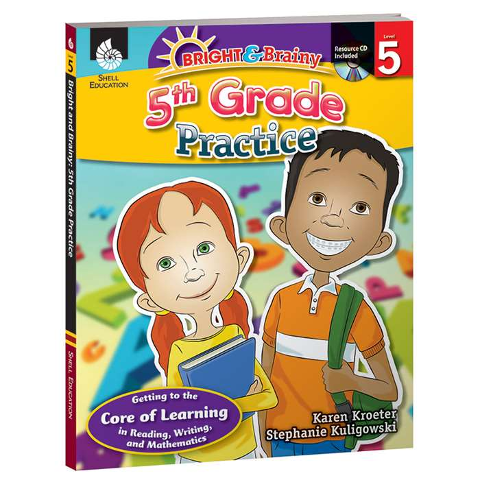 Grade Level Practice Book & Cd Gr 5 By Shell Education