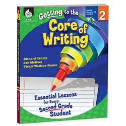 Level 2 Getting To The Core Of Writing Book & Cd By Shell Education