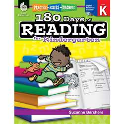 180 Days Of Reading Book For Kindergarten By Shell Education
