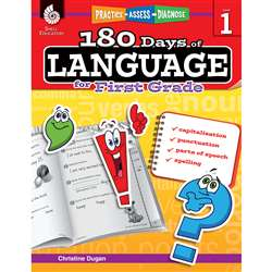 180 Days Of Language Gr 1, SEP51166