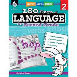180 Days Of Language Gr 2, SEP51167