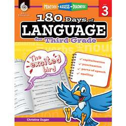 180 Days Of Language Gr 3, SEP51168