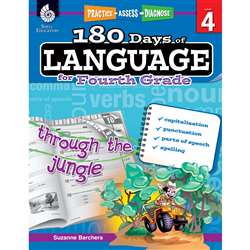 180 Days Of Language Gr 4, SEP51169