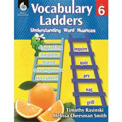 Vocabulary Ladders Gr 6, SEP51305