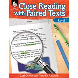 Level 1 Close Reading With Paired Texts, SEP51357
