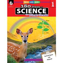180 Days Of Science Grade 1, SEP51407
