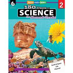 180 Days Of Science Grade 2, SEP51408