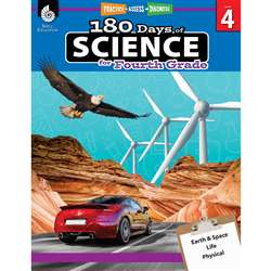 180 Days Of Science Grade 4, SEP51410