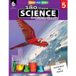 180 Days Of Science Grade 5, SEP51411