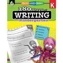 180 Days Of Writing Gr K, SEP51523
