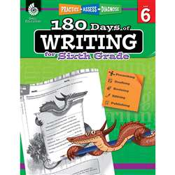 180 Days Of Writing Gr 6, SEP51529