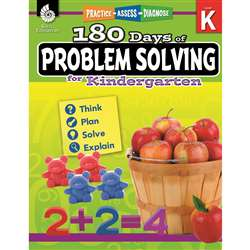 180 Day Problem Solving Gr K Workbk, SEP51612