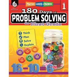 180 Day Problem Solving Gr1 Workbk, SEP51613