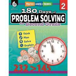 180 Day Problem Solving Gr2 Workbk, SEP51614