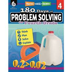 180 Day Problem Solving Gr4 Workbk, SEP51616