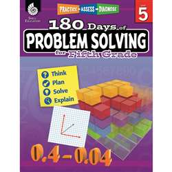 180 Day Problem Solving Gr5 Workbk, SEP51617